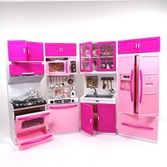 toy kitchens flooring ideas for kitchen 2125 best pretend play images amazon com envo toys large xxl doll toddlers features lights and sounds perfect kids games