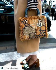Dior Devotee. @whatastreet #streetstyleswipe #streetfashion #streetstyle #style #pfw #parisfashionweek #parisstyle #paris #dior #diorbag @dior