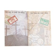 Holy Land Passport Sticker Books - Oriental Trading
