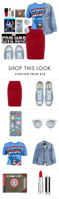 """""""captain america inspired"""" by soniapan97 on Polyvore featuring Paule Ka, Christian Dior, Y/Project, Givenchy, Gucci, men's fashion, menswear, contestentry and CaptainAmericaCivilWar"""