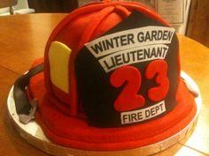 Fireman's Retirement Cake By kayleesgrammy on CakeCentral.com