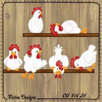 chickens #fariesdesigns