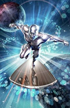 """Silver Surfer"" by Greg Horn 