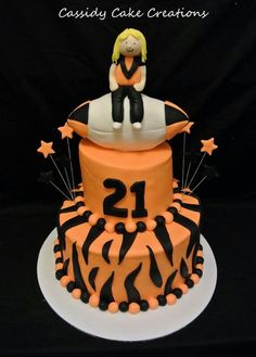 Th West Tigers Birthday Cake