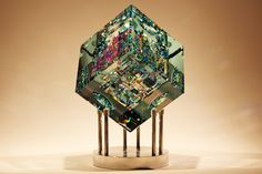 Rare Kaleidoscopic Glass Sculptures by Jack Storms - My Modern Met