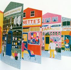 Up My Street - Louise Lockhart   Illustration   Design   The Printed Peanut available to buy online at www.theprintedpeanut.co.uk!