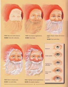 Santa Face Techniques - Maria Vai Com AS Artes Neia Reis - Picasa Webalbums