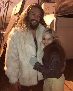 "872 Likes, 6 Comments - Game of Thrones (@gameofthronestvshow) on Instagram: ""New! Khal Drogo and Khaleesi! #jasonmomoa #emiliaclarke @prideofgypsies @emilia_clarke"""