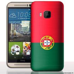 Coque M9 HTC - Portugal - Design Drapeau. #coque #m9 #htc #portugal