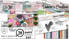 My Sweet Love Collection by Debora's Creations CU