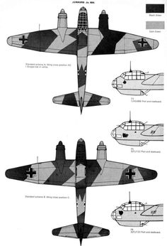 Luftwaffe Bomber Camo & Markings 1940 Vol_
