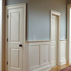 26 best Wainscoting images on Pinterest | Diy ideas for home, Wall ...