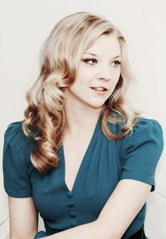 Natalie Dormer. That hair, and this girl.