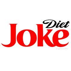 PARODY DIET COKE