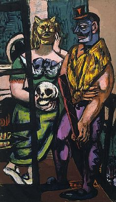 In New York: Max #Beckmann In New York #The #Metropolitan #Museum of #Art #NewYork #painting @metmuseum