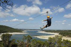 Lake Travis Zipline Adventures in Austin, TX