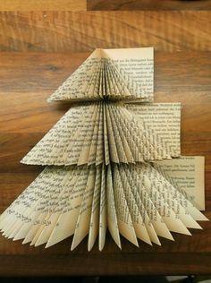 DIYcreation-Weihnachtsbaum gefalten 8