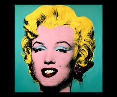 Un Clásico de Andy Warhol. La famosa Marilyn Monroe Pintada al original estilo Pop Art!