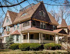Corydon Tyler Purdy House (1893), 503 N Grove Ave, Oak Park, Illinois, USA