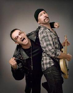 Bono and The Edge! #U2