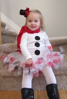 Items similar to Adorable Snowman Frosty Girl Christmas Holiday Outfit With Bow and Top Hat for Newborn through 5 Toddler on Etsy Christmas Photos, Christmas Shirts, Christmas Fun, Christmas Outfits, Snowman Party, Cute Snowman, Toddler Girl Style, Christmas Photography, Tutu Outfits