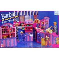 Barbie supermarket playset, 1995