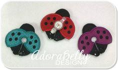 Ladybug Shape Gtube Pad Feeding Tube Covers by AdorabellyDesign on Etsy