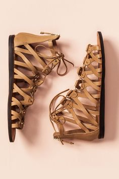 A classic pair of gladiators can be worn all Summer.