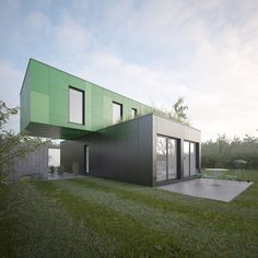 Container House - CG Architectes on Behance