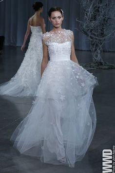 Monique Lhuillier Bridal SS 2013