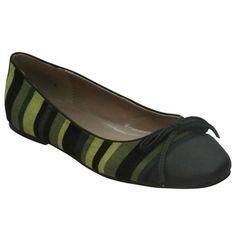 Green Striped Flat