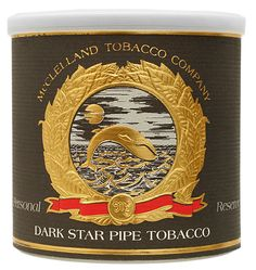 McClelland Tinned Personal Reserve: Dark Star 100g This tobacco begins as Bright Yellow, sugary top grade Virginia and Carolina leaf. Through careful triple aging, pressing and stoving, it becomes rich, cool and dark. A spicy aroma.