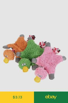 4791af96a5 Toys Squeaking Multi-Squeaker Toy For Pet Dogs Puppy Soft Toy Sound Funny  Duck Design   Garden