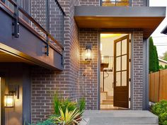 Contemporary Brownstone With Brick and Iron Exterior   HGTV Faces of Design   HGTV