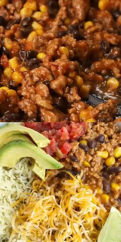 Turkey Taco Burrito Bowls are a family favorite dinner! Turkey taco meat simmers in a seasoned tomato broth. Serve over rice with your favorite toppings. Healthy Tacos, Healthy Meal Prep, Healthy Dinner Recipes, Healthy Eating, Healthy Burritos, Healthy Ground Turkey, Ground Turkey Recipes, Ground Turkey Burrito Recipe, Dinner With Ground Turkey