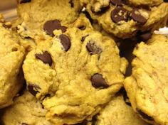 Chick Pea Chocolate Chip Cookies with the following changes. 1) chick peas are pureed. 2) increase oats to 1 and 1/2 cups ground oats. 3) reduce flour to 3/4 cup. 4) reduce chocolate chips to 1/2 cup. 5) add 1/4 cup ground flax.