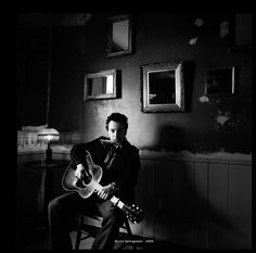 Bruce Springsten ©Danny Clinch, shown at The Morrison Hotel Gallery