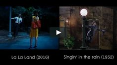 Here is my tribute to some famous musical in film history through La La Land's references.   Music from the original soundtrack of the film.   Hope you enjoy.