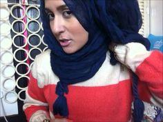 Dina Tokio - Simple Hijab Tutorial - Lazy doll Crinkle scarf