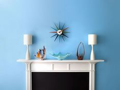 """We are lovers of Benjamin Moore's new magazine app """"Color Life"""". Which of these cool tones is your favorite? Blue Rooms, Blue Walls, Benjamin Moore Colors, Toddler Rooms, Find Color, Cool Tones, Modern Decor, Paint Colors, Gallery Wall"""