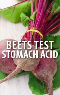 Dr Oz explained how the stomach is the body's battery, and it can start to lose its charge over time. Take the Beet Urine Test to help monitor stomach acid. http://www.recapo.com/dr-oz/dr-oz-diet/dr-oz-beet-urine-test-for-stomach-acid-vitamin-b12-deficiency/