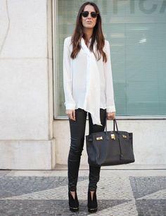 jennifersandra:        Street style at Lisbon fashion week