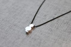 Cute Cat  Necklace  S20641 by Ringostone on Etsy, $11,00