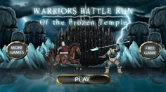 Check out this cool app Defeat the enemy sorcerers army and build your warriors clans by collect coins to unlock other characters for more adventures and advanced weapons. Game Effect, Run 1, Best Games, Free Games, Games To Play, Warriors, Weapons, Temple, Battle