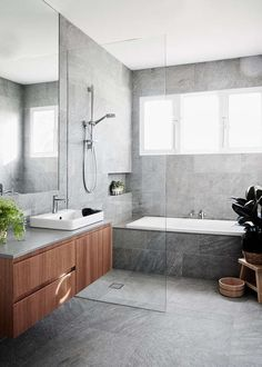 remodeling ideas bathroomisunquestionably important for your home. Whether you choose the bathroom ideas remodel or bathroom ideas remodel, you will create the best dyi bathroom remodel for your own life. Dyi Bathroom Remodel, Bathroom Renos, Bathroom Flooring, Bathroom Renovations, Vanity Bathroom, Wood Vanity, Grey Marble Bathroom, Marble Tiles, Brown Bathroom Tiles