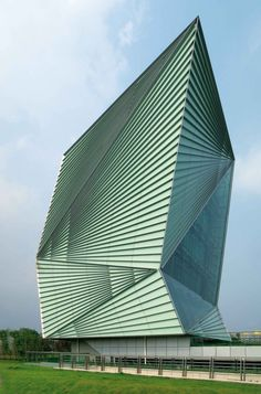Centre for Sustainable Energy Technologies  Ningbo, China  Mario Cucinella Architects