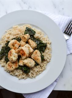 Rachel Schultz: THAI CHICKEN WITH COCONUT SWISS CHARD