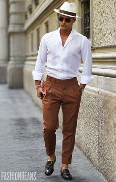 Smart Casual Look | Fashion Men | Street Style | Casual Outlook | #menfashion #menstyle #menswear #fashioninspiration | www.crichardsleather.com