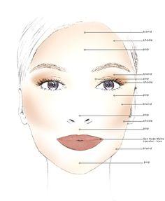 Best Ideas For Makeup Tutorials : Bare Escentuals bareMinerals BarePro Contour Face-Shaping Powder Palette - Flashmode Worldwide Face Contouring, Contour Makeup, Contouring And Highlighting, Beauty Makeup, Contour Face, Face Makeup, Contouring Guide, Beauty Skin, Hair Beauty