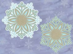 Layered snowflakes 4 - Monica's Creative Room